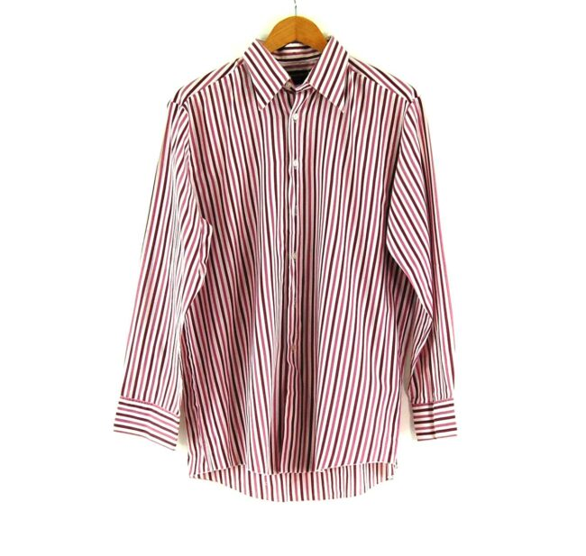 70s Purple Stripe Shirt