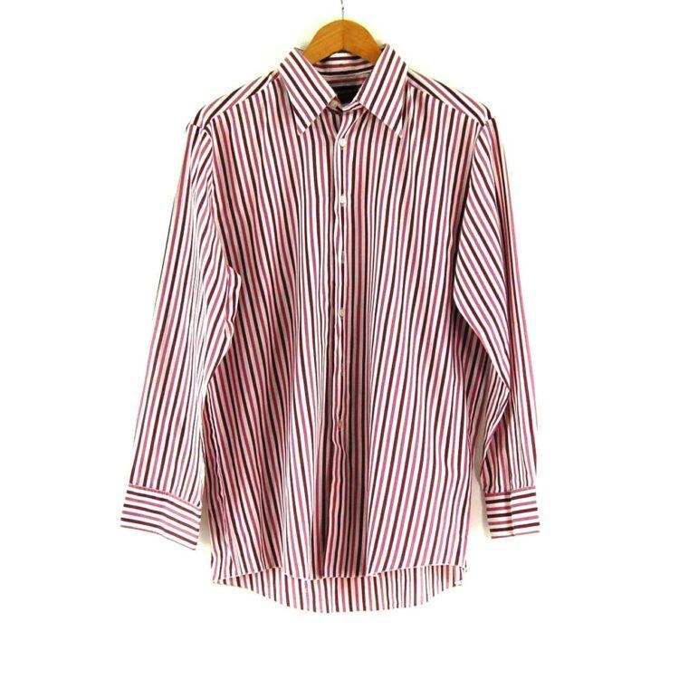 70s Purple Stripe Shirt