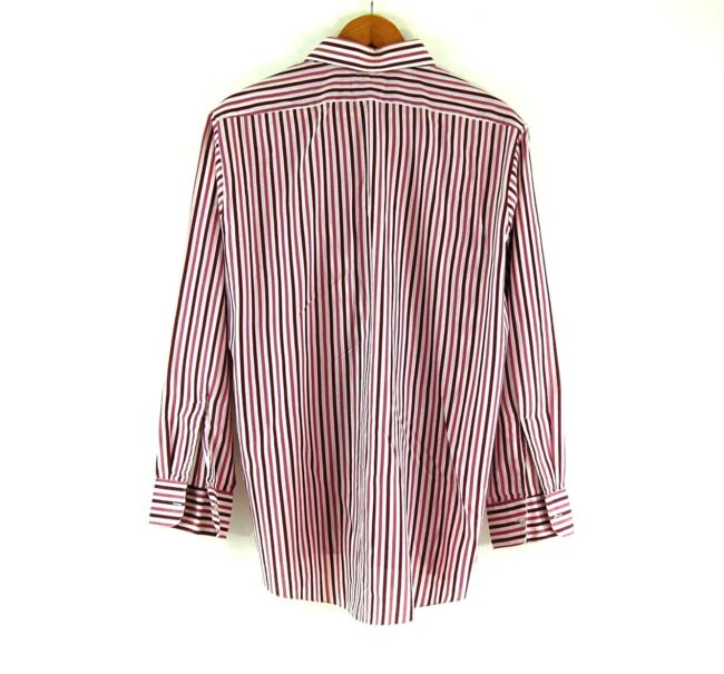 70s Purple Stripe Shirt Back