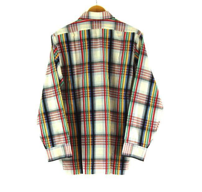 70s Plaid Shirt Back