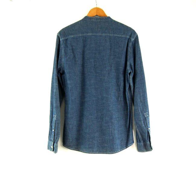 Blue Chambray Tunic Shirt Back