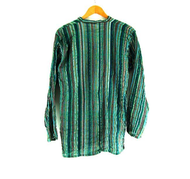 90s Striped Tunic Shirt Back