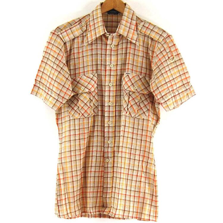 Vintage 70s Baron Checked Shirt
