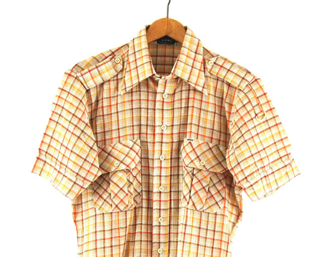 Vintage 70s Baron Checked Shirt