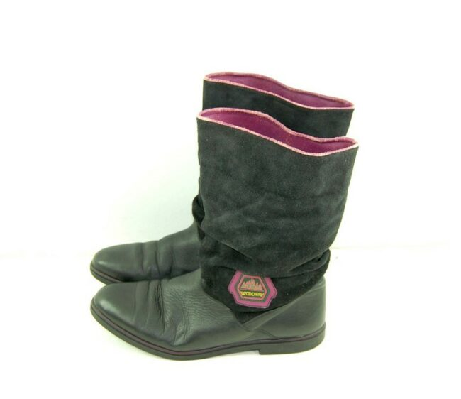 80s Woodway Suede Ankle Boots