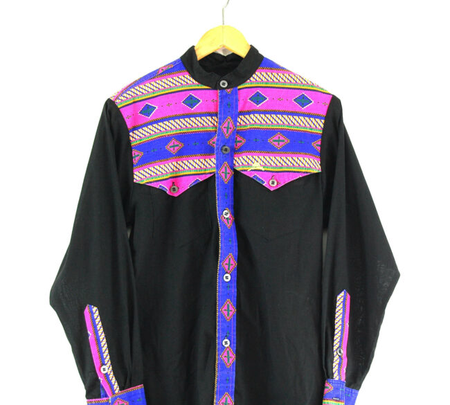 1970s Western Shirt Close Up