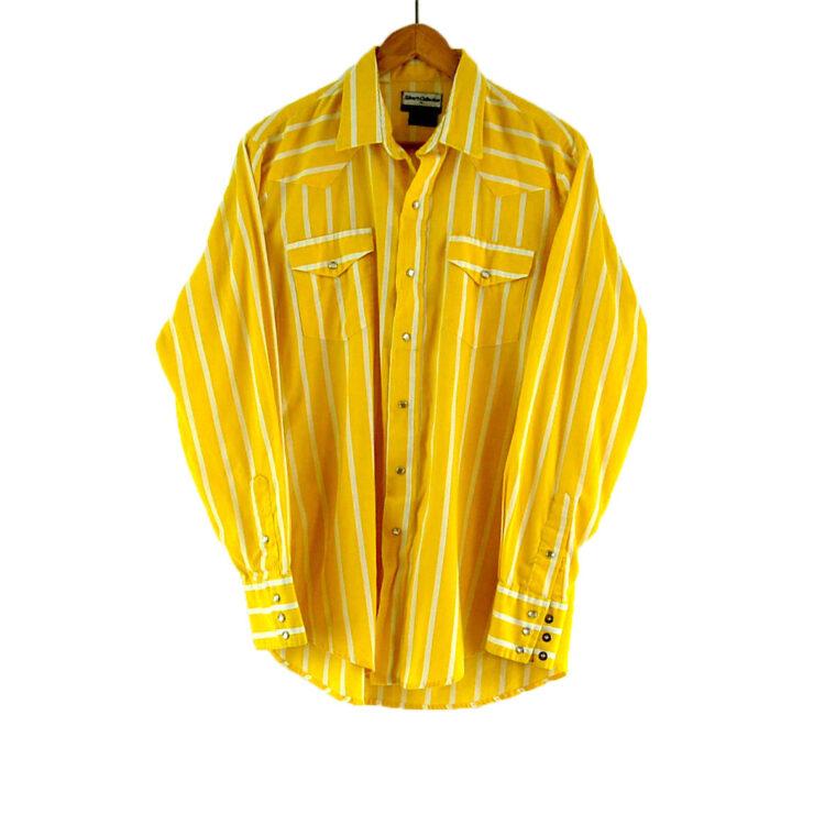 70s Striped Western Shirt