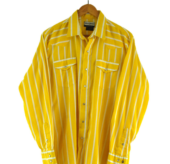 70s Striped Western Shirt