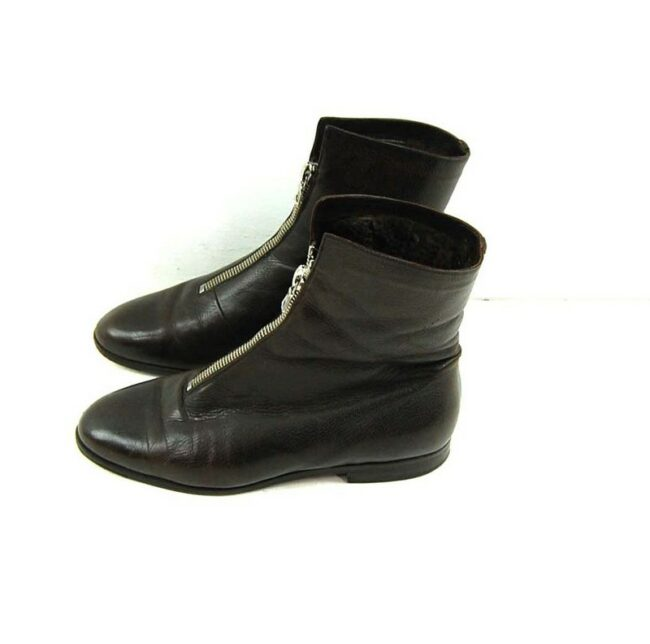80s Brown Pixie Boots