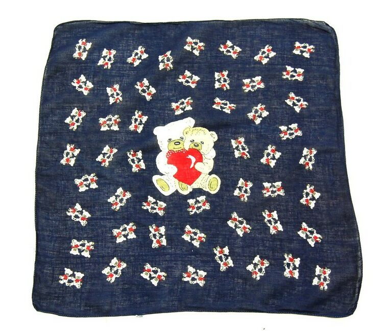 Romantic Teddy Bears Bandana