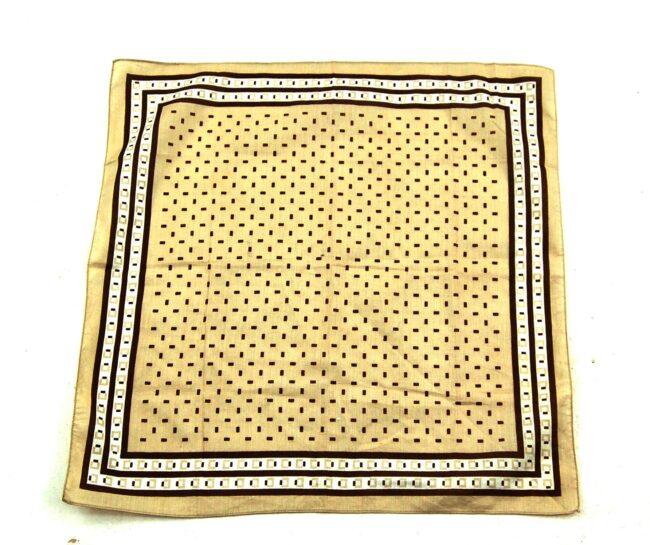 Vintage 70's Geometric Bandana Scarf
