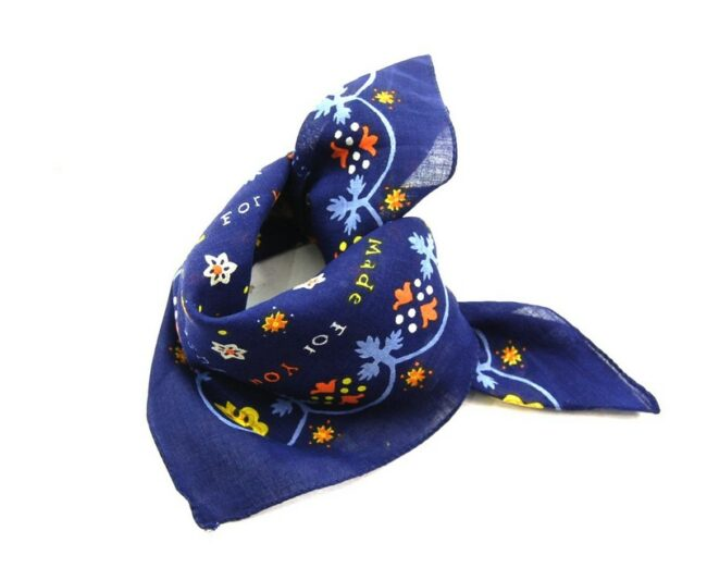 Made For You Floral Print Bandana