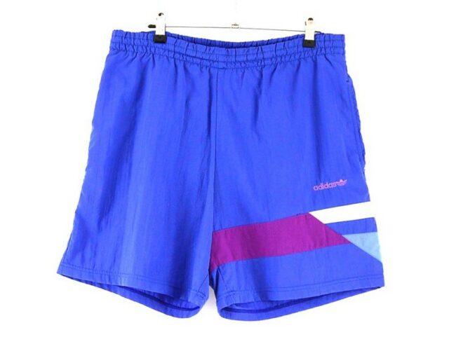 Purple Adidas Retro Shorts