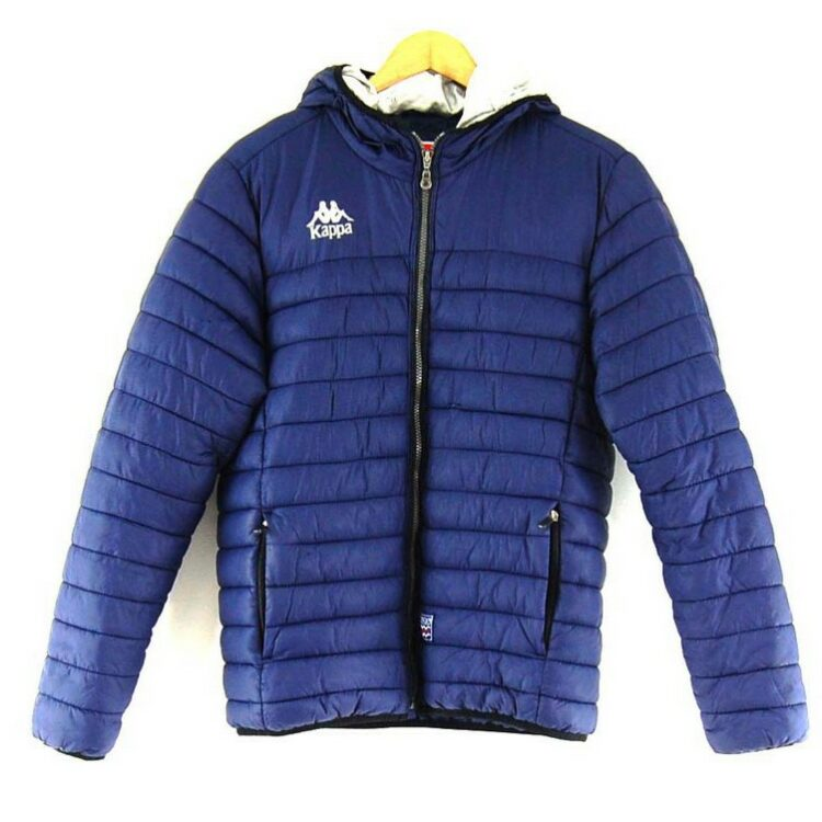 Dark Blue Kappa Puffer Jacket