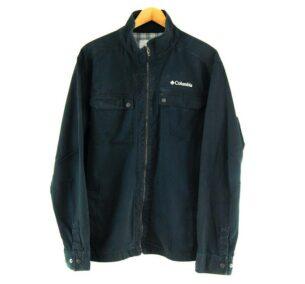Mens Black Columbia Softshell Jacket