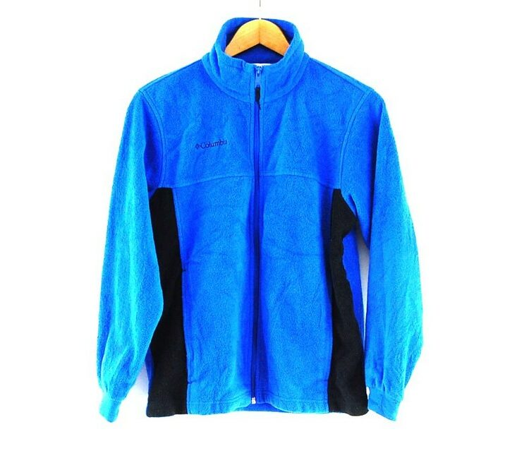 Blue Columbia Fleece Jacket