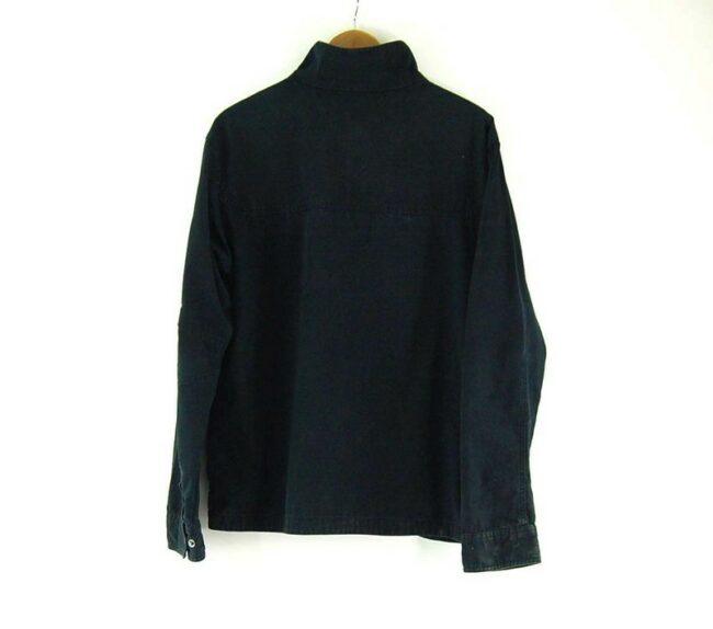 Back of Mens Black Columbia Softshell Jacket