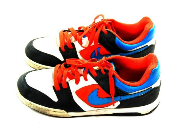 Black And Orange Nike Trainers