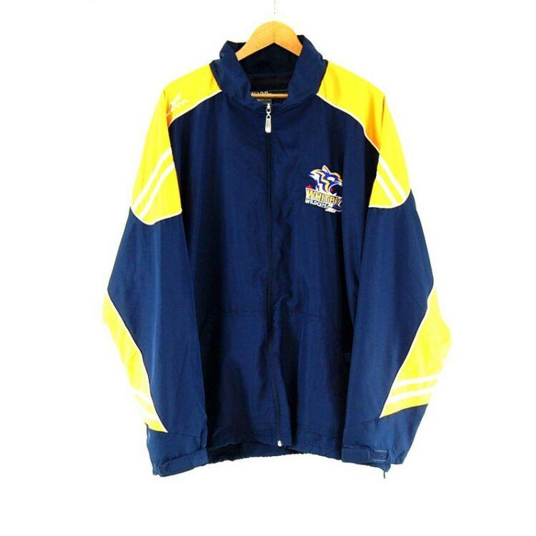 Kewl Whitby Wildcats Blue Windbreaker Jacket