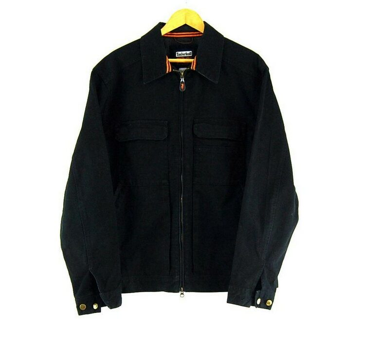 Mens Black Timberland Jacket
