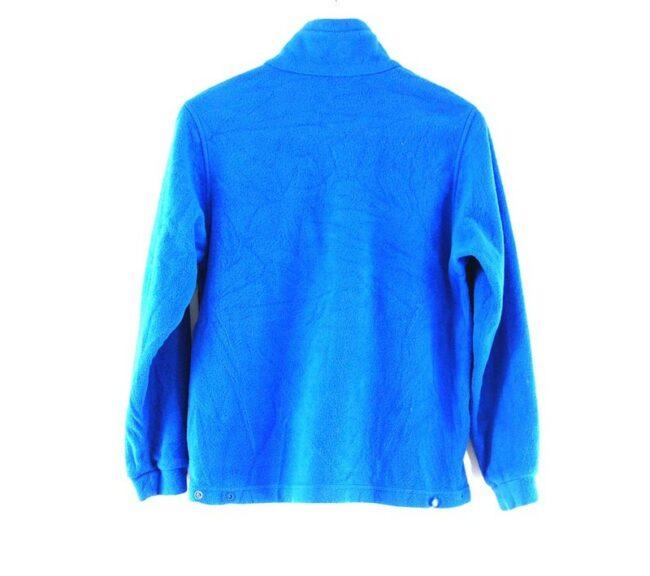 Back of Blue Columbia Fleece Jacket