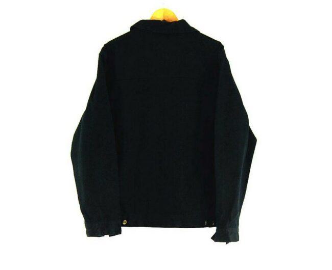 Back of Mens Black Timberland Jacket