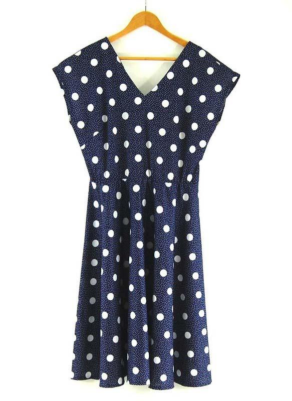 80s Polka Dots Dress