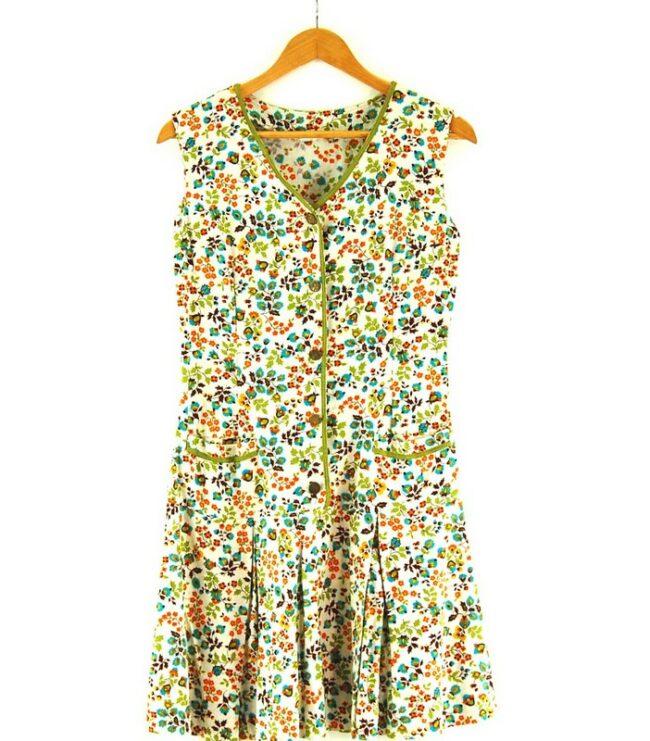 Close of 70s Drop Waist Dress