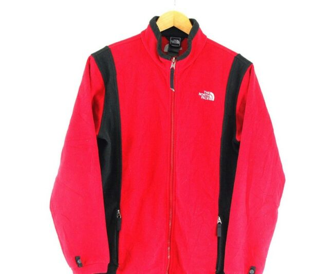 Red North Face Fleece