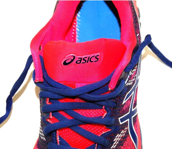Close up of Asics Multicolored Trainers