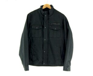 Mens Levis Black Military Jacket