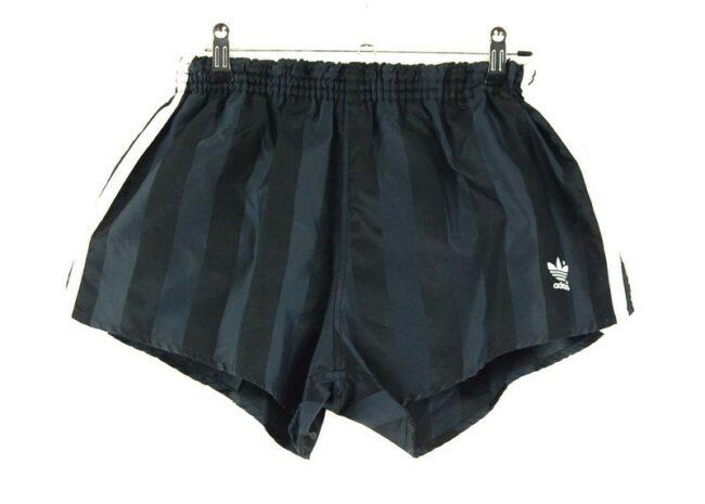 Black Adidas 3 Stripe Shorts
