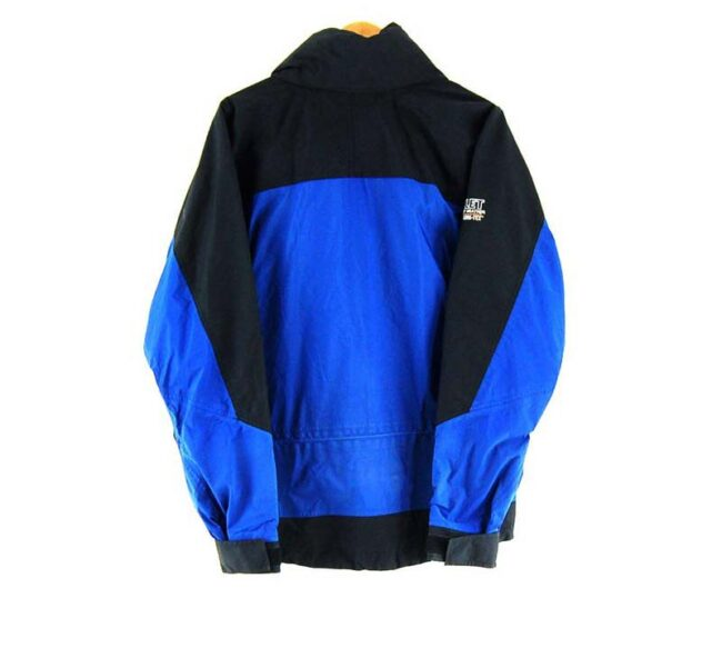 Back of Millet Extreme Wet Weather Goretex Jacket
