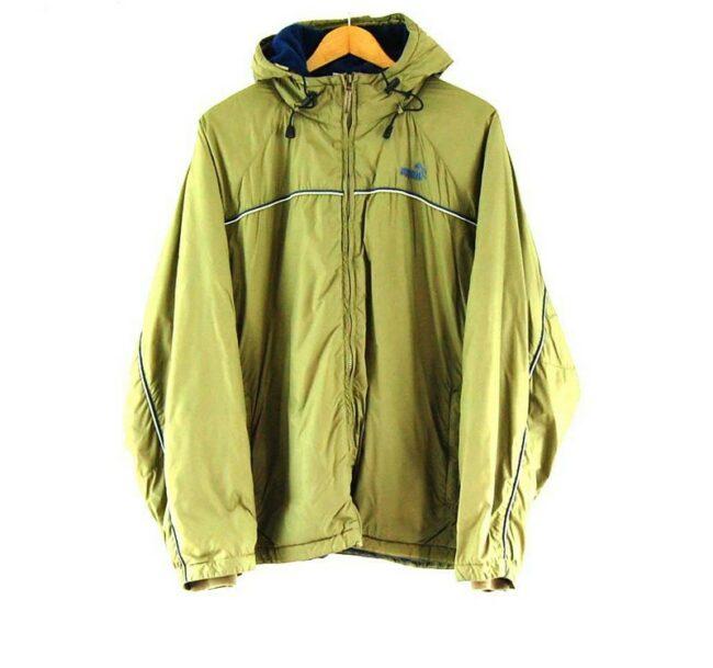 Olive Green Puma Vintage Jacket