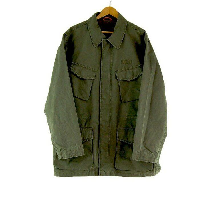 Mens Olive Timberland Field Jacket