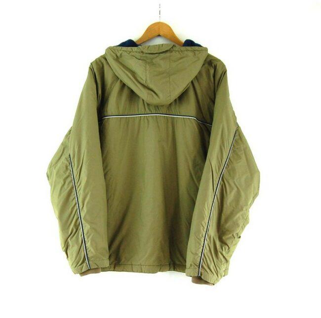 Back of Olive Green Puma Vintage Jacket