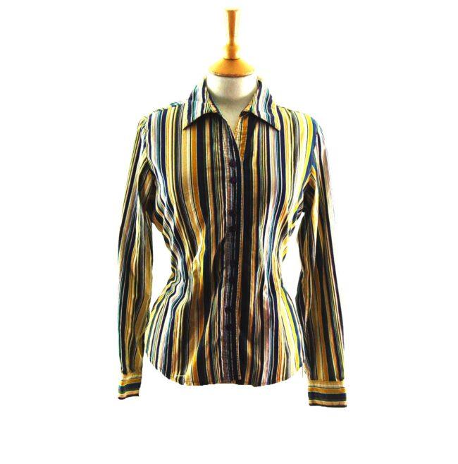 Striped Corduroy Shirt