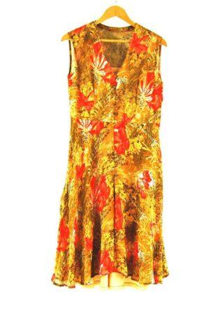 70s Chiffon Dress