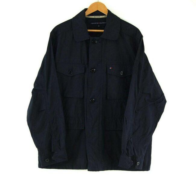 Mens Tommy Hilfiger Navy Blue Jacket