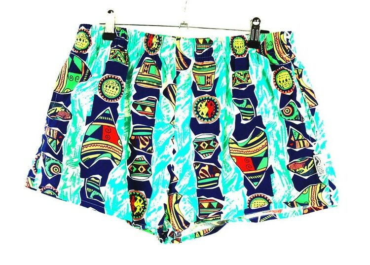 Silver Coast 90s Beach Shorts