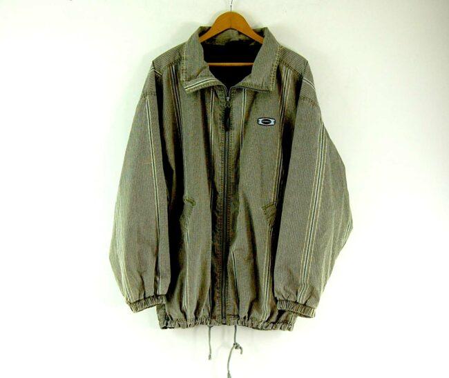 Green Striped O Neill Jacket Mens