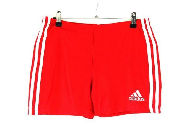 Red Adidas Training Shorts
