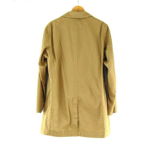 Back of Mens Brown G Star Raw Coat