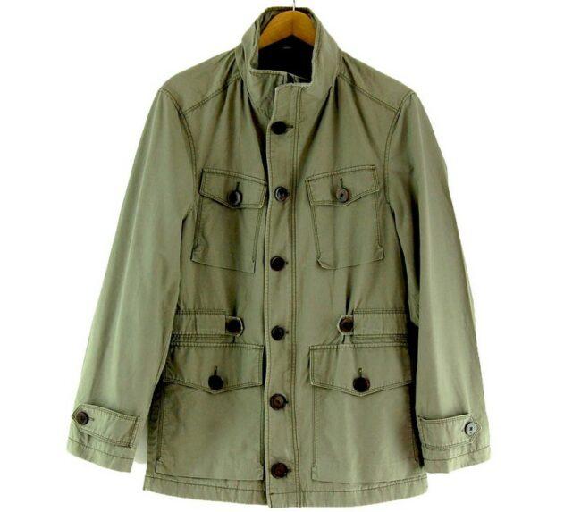 Mens Tommy Hilfiger Green Jacket