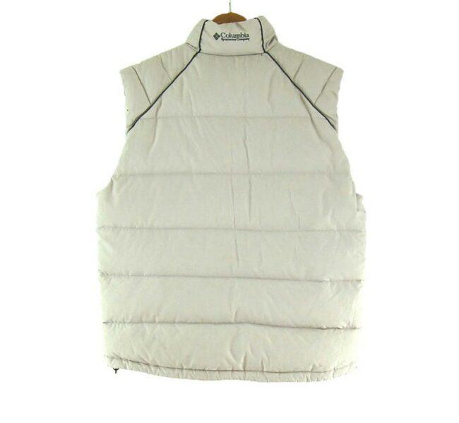 Back of Columbia Puffer Vest Mens