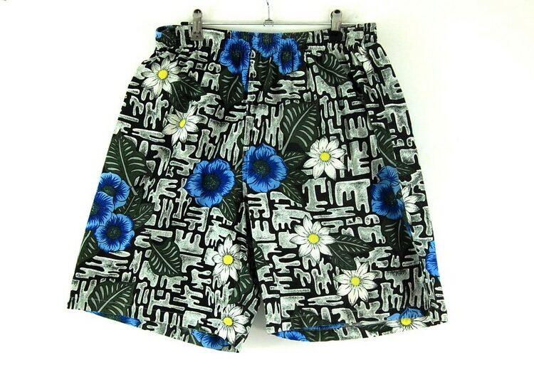90s Mens Long Shorts