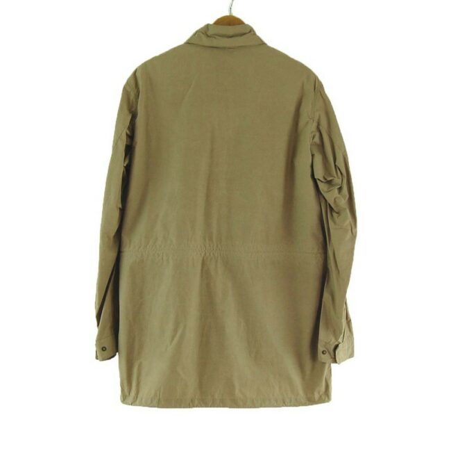 Back of Barbour Wick Tailored Fit Jacket