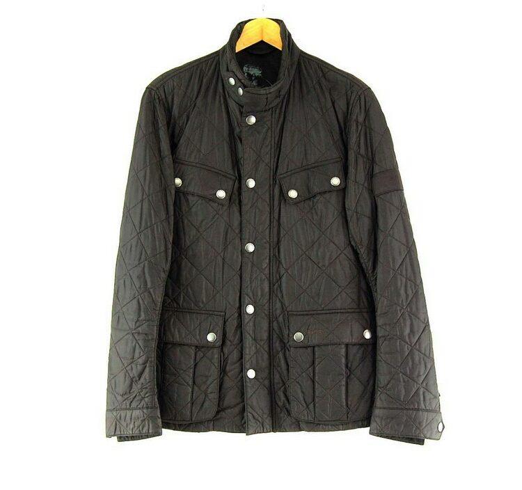Brown Vintage Barbour International Jacket