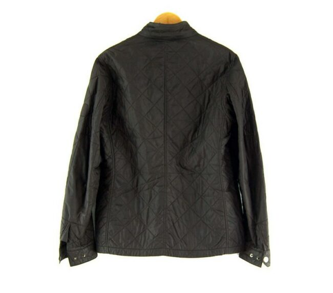 Back of Brown Vintage Barbour International Jacket