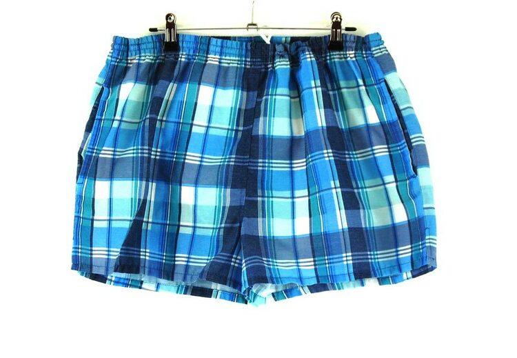 90s Checkered Shorts Mens